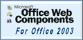 Get Microsoft Office Web Component for Office 2003